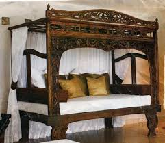 Bed Frame Canopy Bed Frames Beds Canopy Bed Java