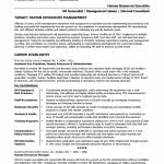 Human Resource Resumes Human Resources Resume Template Resume For A Human Resources