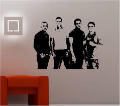 Bedroom Band Stunning Jls Band Image Wall Art Sticker Vinyl Lounge Bedroom Kids