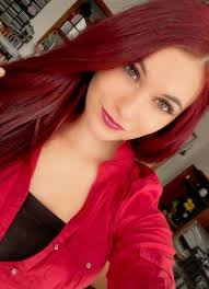 Light Burgundy Hair The 25 Best Deep Burgundy Hair Color Ideas On Pinterest