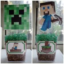 Buzz Lightyear Centerpieces by Minecraft Centerpieces 4pc Set Centerpieces Birthdays And Craft