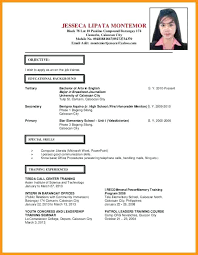 official resume format official resume format foodcity me