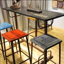high bar table and chairs retro bar ideas best home design ideas sondos me