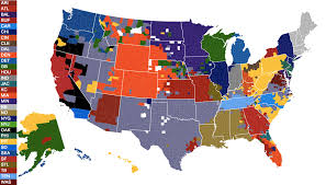 Mlb Map Raiders Must Make A Move To L A Realclearsports