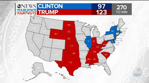 Election Map Results by 2016 Election Results Ny Ks Nd Sd Wy Ne Tx Abc News Youtube