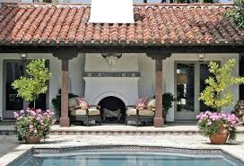 Outdoor Fireplace Designs - spanish style outdoor fireplace fireplace designs forum grates