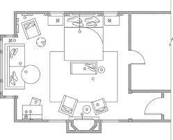 master bedroom floor plan interior design