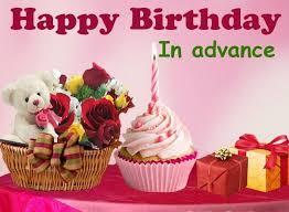 best advance happy birthday greeting cards