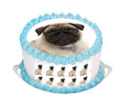 pug cake topper etsy