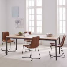 Box Frame Expandable Dining Table West Elm - West elm emmerson industrial expandable dining table