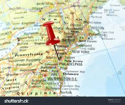 Map Of Maine Usa by Map Usa Pin Set On New Stock Photo 403964506 Shutterstock