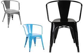 Tolix Bistro Chair Tolix Moskov Chair Café Retro Pauchard Replica Diiiz
