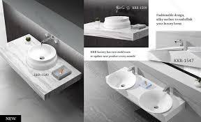 solid surface bathroom sinks acrylic solid surface bathroom sinks with cabinet kingkonree one