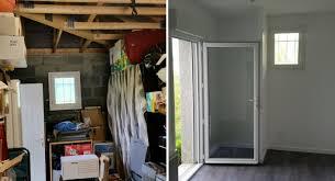 am駭ager une chambre dans un garage amenagement chambre parentale avec salle bain opter pour le lit