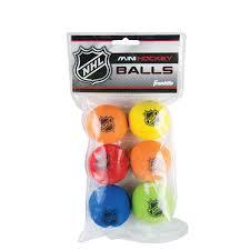 amazon com franklin sports nhl foam mini hockey balls assorted