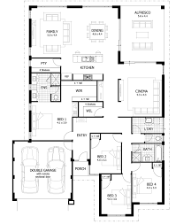 5 Bedroom House Plans Single Story Perth Modern HD