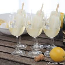 signature cocktail champagne popsicles julie blanner