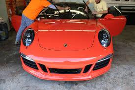 Mobile Window Tinting Phoenix Window Tint For Porsche 911 Carrera Gts Windowtintz Com