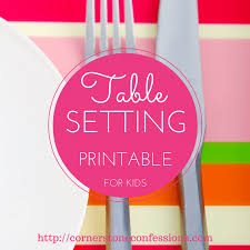 table setting placemat free table setting placemat printables