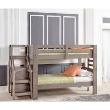 Bunk Bed Mattress Set Oak Furniture West Bedroom Groups Bunkbed With Staircase
