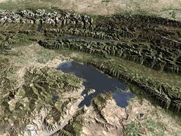 Western Montana Map by Aerial Photographs