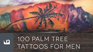 100 palm tree tattoos for