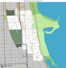 12th ward chicago map map of building projects properties and businesses in 46th ward