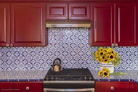 mexican tile kitchen backsplash santa fe classic 14 porcelain tile kitchen backsplash accents