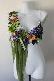 Moon Goddess Fairy Monokini Bra Cosplay Dance Costume Rave Bra by Garden Fairy Rave Bra By Revoltcouture On Etsy 80 00 Rave Bras