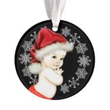 silver baby ornaments keepsake ornaments zazzle