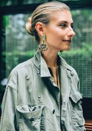 mr t feather earrings how it s done the statement earring j crew