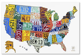 License Plate Map License Plate Map Map Of Northern Mexico National Forest Map Colorado
