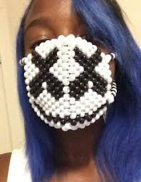Kandi Mask Marshmello Kandi Mask Edc Edm Ultra Raves Mello Gang Ebay