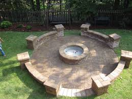 Firepit Area Marietta Atlanta Country Club Pit Area Rpm Landscape And Pavers
