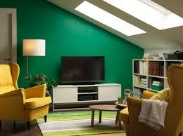 Media Room Furniture Ikea - mueble para la tele y librería en blanco dos sillones orejeros
