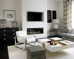Corner Gas Fireplace With Tv Above by Tv Above Fireplace Houzz