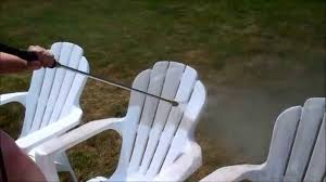 how to clean your outdoor plastic patio furniture in less than