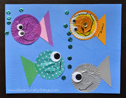 fish kids craft out of cupcake liners fish cupcakes cupcake