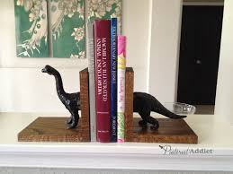 how to make dinosaur bookends pinterest addict