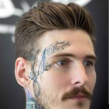 short natural tapered low hairstyles with a part short hairstyles for men
