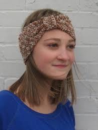 knitted headband pattern knitting patterns galore cuddly headband