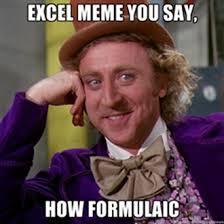 What Is A Meme Exle - excel meme contest winners bacon bits