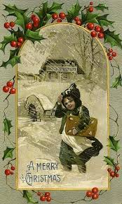384 best old christmas cards images on pinterest vintage