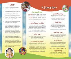 daycare brochure template free christian brochure templates free christian newsletter