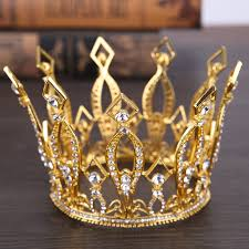 bridal jewelry gold silver tiara crown bridal jewelry diadem wedding