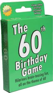 surprise 60th birthday the 60th birthday game a fun gift or present specially for people