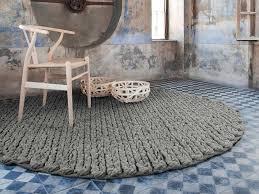 Circular Wool Rugs Uk Buy The Gan Trenzas Circular Rug At Nest Co Uk