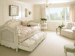 Shabby Chic Boutiques by Romantic White Shabby Chic Bedroom Design