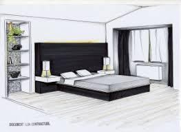 dessin en perspective d une chambre perspective chambre idées de décoration capreol us