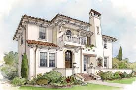 Mediterranean House Styles - early 20th century suburban house styles old house french